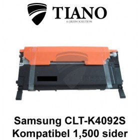 Samsung CLT-K4092S sort printerpatron (kompatibel)