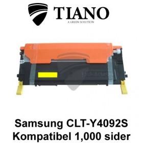 Samsung CLT-Y4092S gul printerpatron  (kompatibel)
