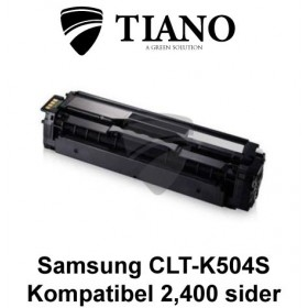 Samsung CLT-K504S sort printerpatron (kompatibel)