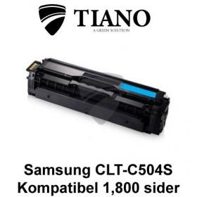 Samsung CLT-C504S cyan printerpatron (kompatibel)