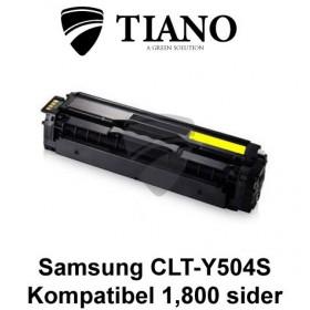 Samsung CLT-Y504S gul printerpatron (kompatibel)