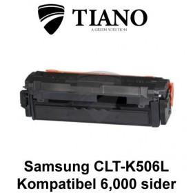 Samsung CLT-K506L sort printerpatron (kompatibel)