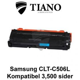 Samsung CLT-C506L cyan printerpatron (kompatibel)
