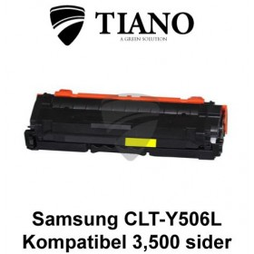 Samsung CLT-Y506L gul printerpatron (kompatibel)