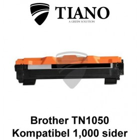 Brother TN1050 sort printerpatron (kompatibel)