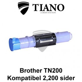 Brother TN200 / TN8000 sort printerpatron (kompatibel)