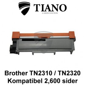 Brother TN2310 / TN2320 sort printerpatron (kompatibel)