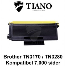 Brother TN3170/ TN3280 sort printerpatron (kompatibel)