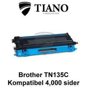 Brother TN135C cyan printerpatron (kompatibel)