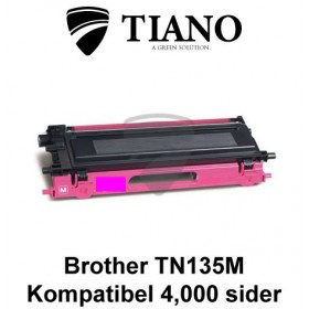 Brother TN135M magenta printerpatron (kompatibel)