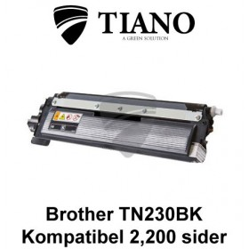 Brother TN230BK sort printerpatron (kompatibel)
