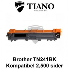 Brother TN241BK sort printerpatron (kompatibel)