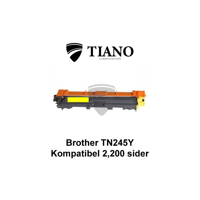 Brother TN245Y gul printerpatron (kompatibel)