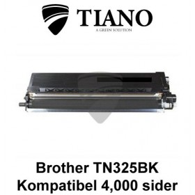 Brother TN325BK sort printerpatron (kompatibel)