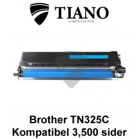 Brother TN325C cyan printerpatron (kompatibel)