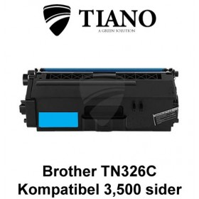 Brother TN326C cyan printerpatron (kompatibel)