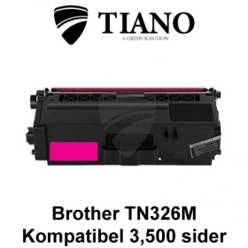 Brother TN326M magenta printerpatron (kompatibel)