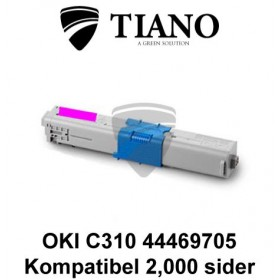 OKI C310 44469705 magenta printerpatron (kompatibel)