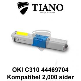 OKI C310 44469704 gul printerpatron (kompatibel)