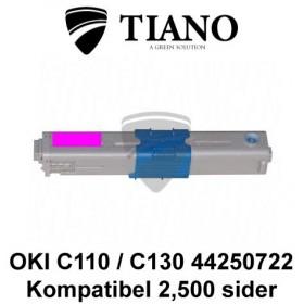 OKI C110 C130 44250722 magenta printerpatron (kompatibel)