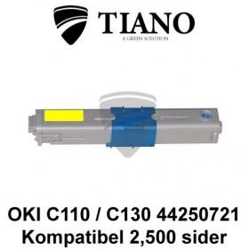 OKI C110 C130 44250721 gul printerpatron (kompatibel)
