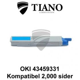 OKI 43459331 cyan printerpatron (kompatibel)
