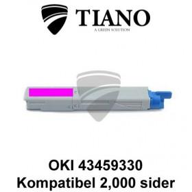 OKI 43459330 magenta printerpatron (kompatibel)0