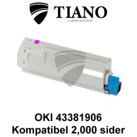 OKI 43381906 magenta printerpatron (kompatibel)