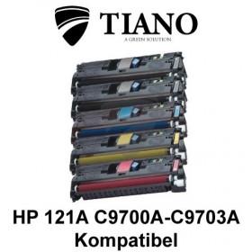 HP 121A C9700A - C9703A Mega pakke 2XBK+C+M+Y 5 stk