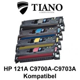 HP 121A C9700A - C9703A Multipakke BK+C+M+Y 4 stk