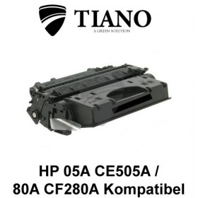 HP 05A CE505A / CF280A sort printerpatron (kompatibel)