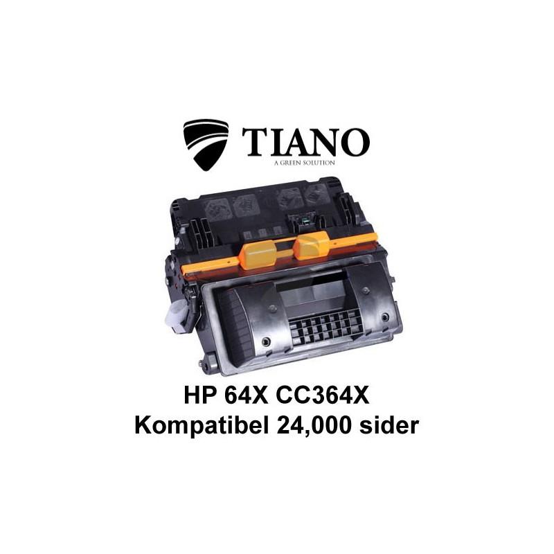 HP 64X CC364X sort printerpatron (kompatibel)