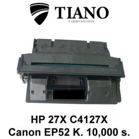 HP 27X C4127X / CANON EP 52 sort printerpatron (kompatibel)