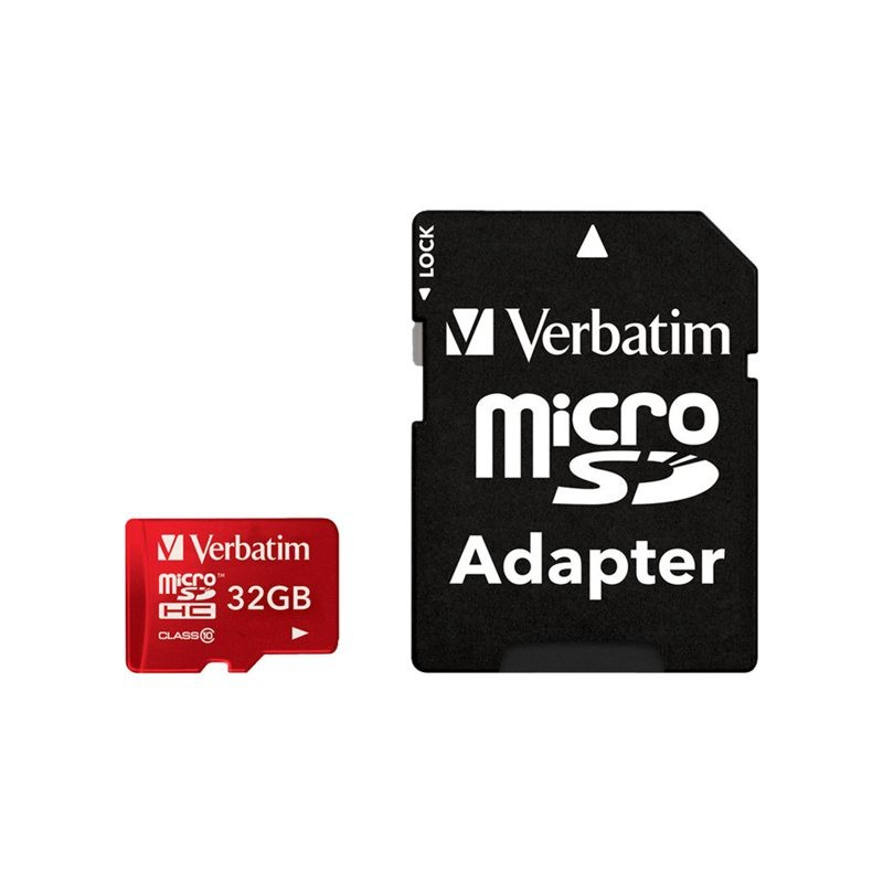 Tablet Micro SDHC Card 32GB - Verbatim - hukommelseskort