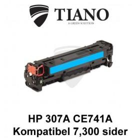 HP 307A CE741A cyan printerpatron (kompatibel)
