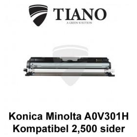 Konica Minolta A0V301H sort printerpatron (kompatibel)