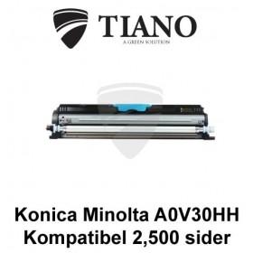 Konica Minolta A0V30HH cyan printerpatron (kompatibel)