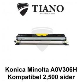 Konica Minolta A0V306H gul prierpatron (kompatibel)