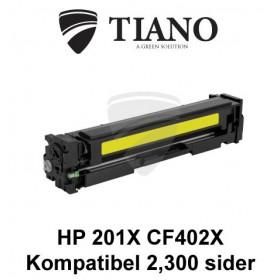 HP 201X CF402X gul printerpatron (kompatibel)