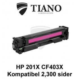 HP 201X CF403X magenta printerpatron (kompatibel)