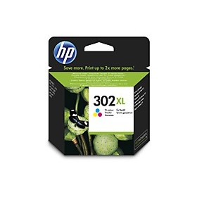 ORIGINAL HP 302XL Tri-color Ink Cartridge