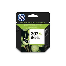 ORIGINAL HP 302XL Black Ink Cartridge