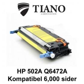 HP 502A Q6472A gul tonerpatron (kompatibel)