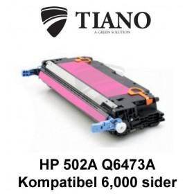 HP 502A Q6473A magenta tonerpatron (kompatibel)