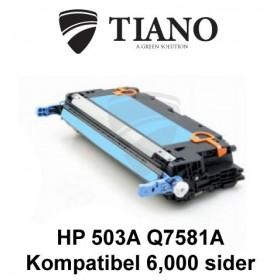 HP 503A Q7581A cyan tonerpatron (kompatibel)