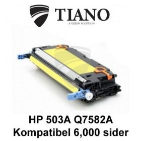 HP 503A Q7582A gul tonerpatron (kompatibel)