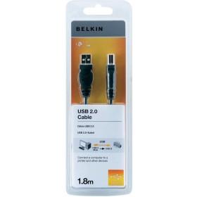 Belkn USB kabel 2.0 - 1.8m - USB-A han til USB-B han