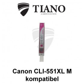 Canon CLI-551XL M magenta kompatibel blæk