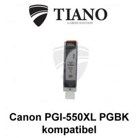 Canon PGI-550XL PGBK sort kompatibel blæk