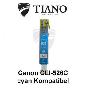 Canon CLI-526C cyan kompatibel blæk